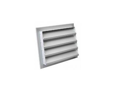 Наружные решетки алюминиевые типа РН ал накладные